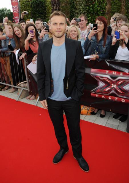 Gary arrive à l'audition de X Factor à Birmingham 1/06/11 163165MQ007