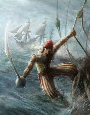 Suivons les petits cailloux 163737328383piratepainting1unknownfunnypicturesnetau