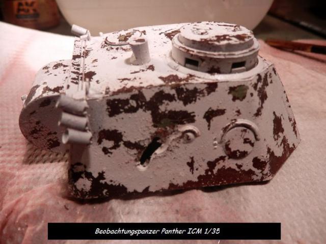 réhabilitation d un Béobachtungspanzer Panther ICM 1/35 165199P4240385