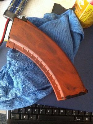comment rendres les  moches chargeur ak oranges en jolie chargeur rs style 167816005