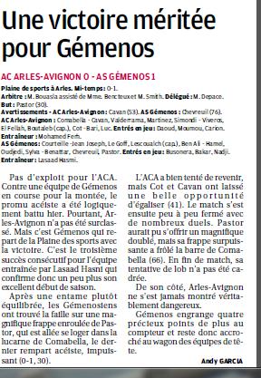 AC ARLES-AVIGNON B // CFA2  MEDITERRANEE GROUPE E  - Page 30 167837633B