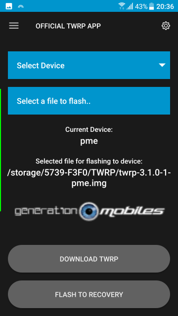 [RECOVERY HTC 10] TWRP 3.3.0-0-pme [15/04/2019] 16794913Screenshot