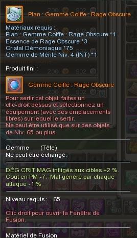 Gemme Coiffe  168353GemmeCoiffeRageObscure
