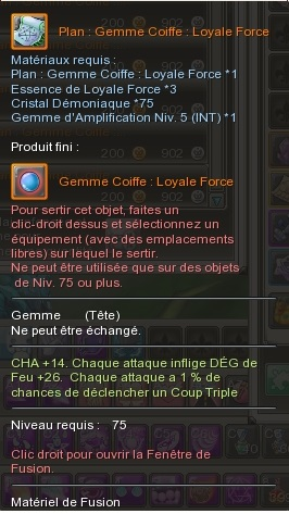 Gemme Coiffe  170052GemmeCoiffeLoyaleForce