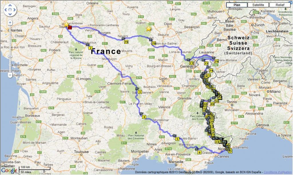 Préparation : LA ROUTE DES GRANDES ALPES - Sept 2013 170097Circuitcomplet