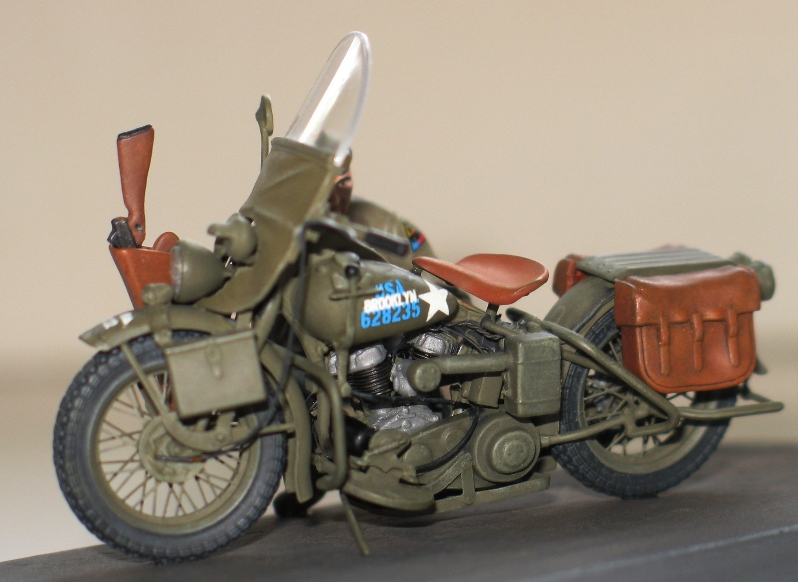 Harley WLA US Army WW2  Miniart 1/35 171046IMG0142