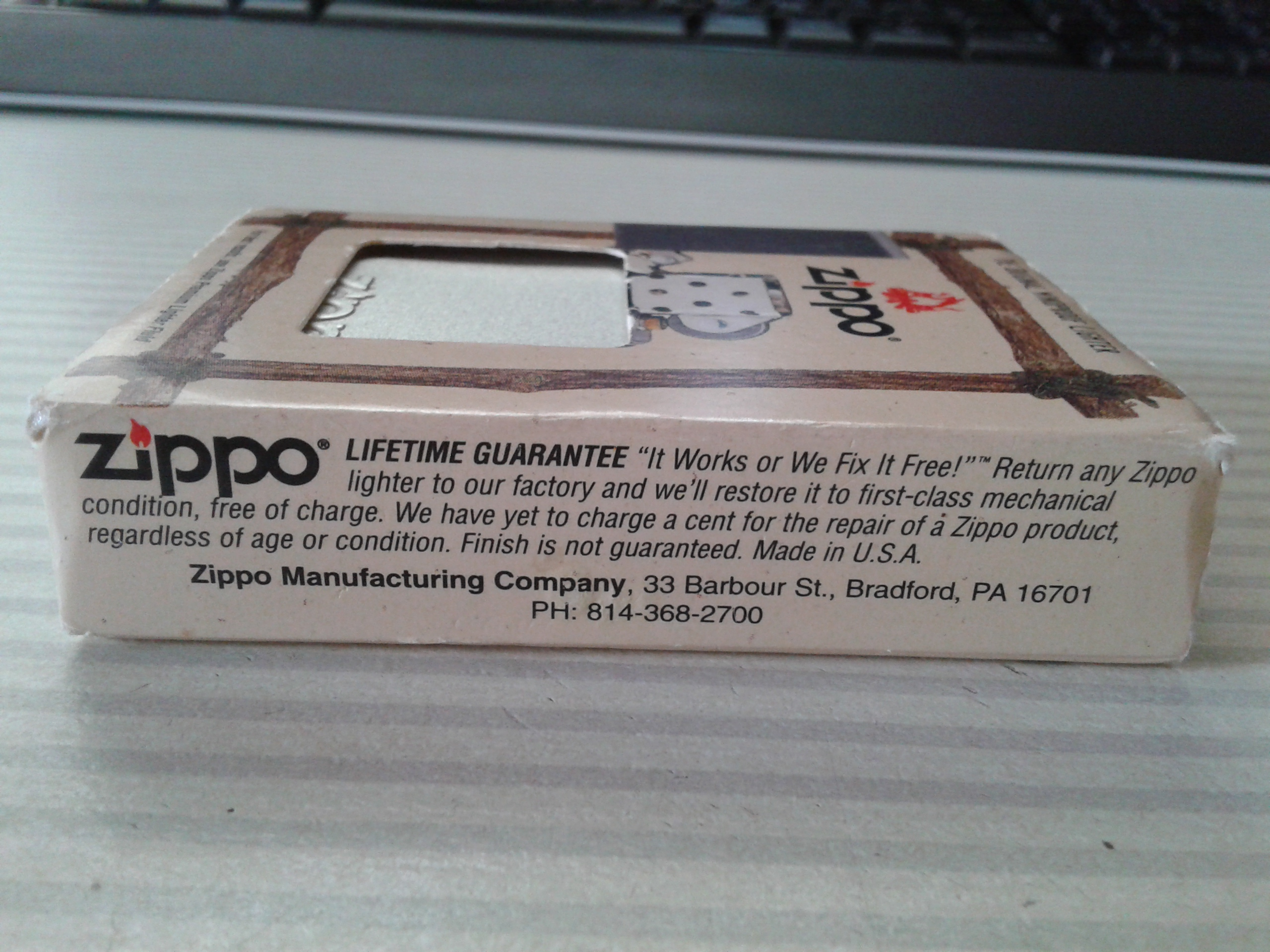 Les boites Zippo au fil du temps - Page 2 171708Windproof2