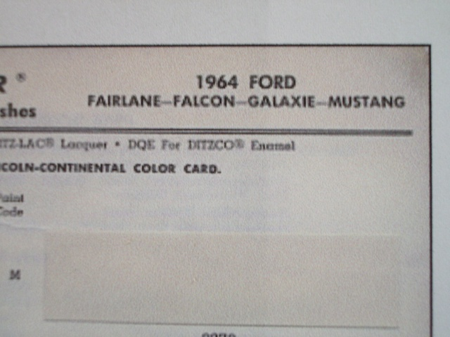 ford mustang 1964 au 1/16 de chez matchbox  17372891m9