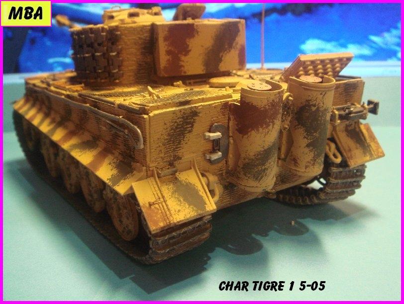 TIGRE 1 (Panzerkampfwagen VI Tiger Ausführung E - Sonderkraftfahrzeug 181) 174051Tigre505