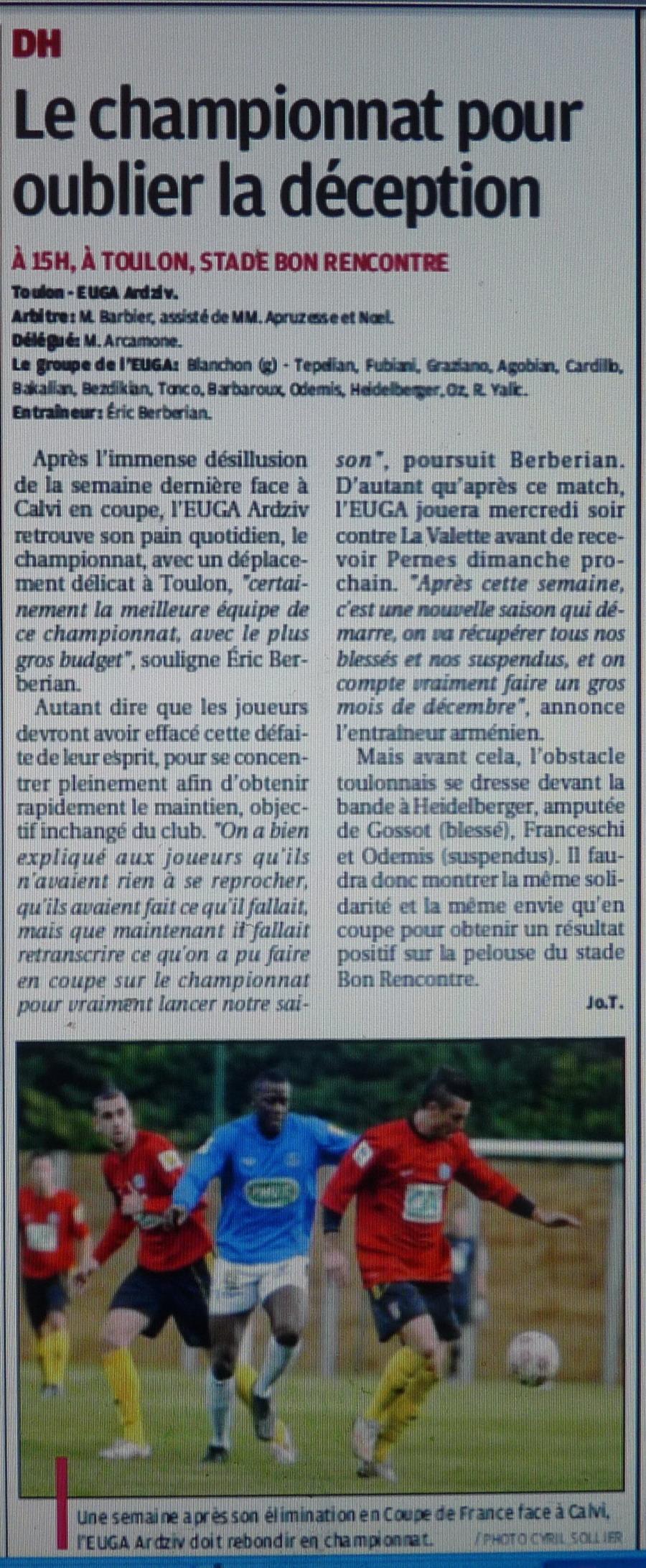 EUGA ARDZIV/ FC CALVI ...De l'Arménie à la Balagne  - Page 7 175989CopiedeP1240825