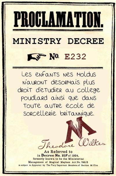 Décrets du ministère de la Magie 176136DECRET3