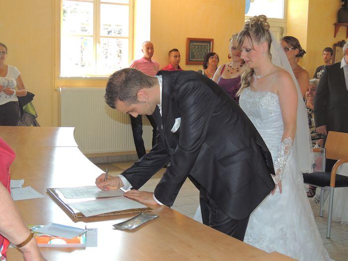 mariage de mon filleul benjamin avec cindy  1779876255