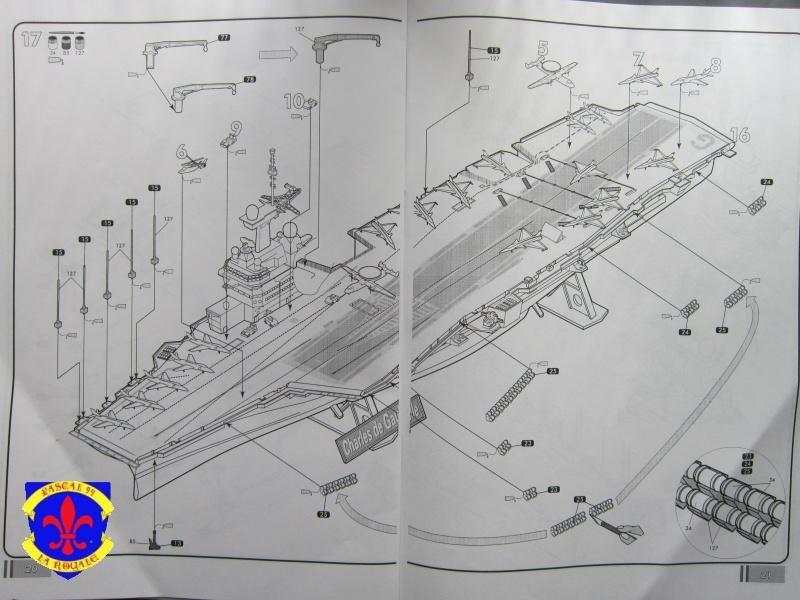 Porte avions Charles De Gaulle au 1/400 d'Heller 178352IMG25271