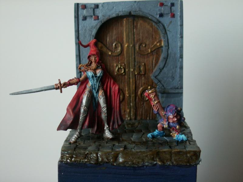 Isabeau la secréte et son porte épée. Marque Rackham 28 Mm 178989PICT0021