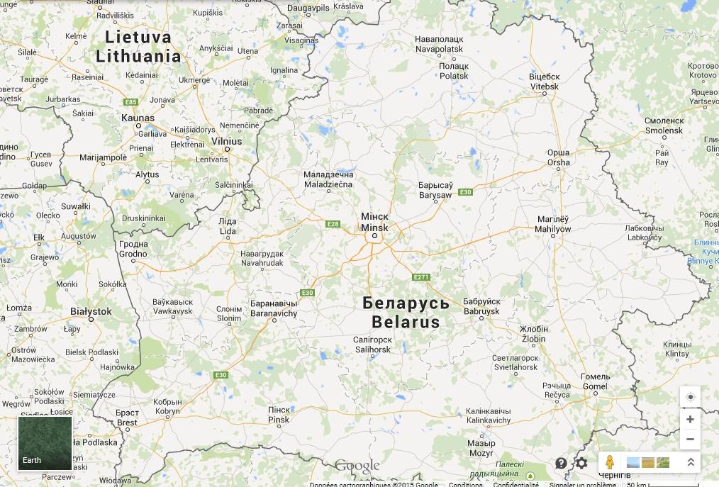 ETS2 - On the road 4 et extension Russie 181826Bilorussie