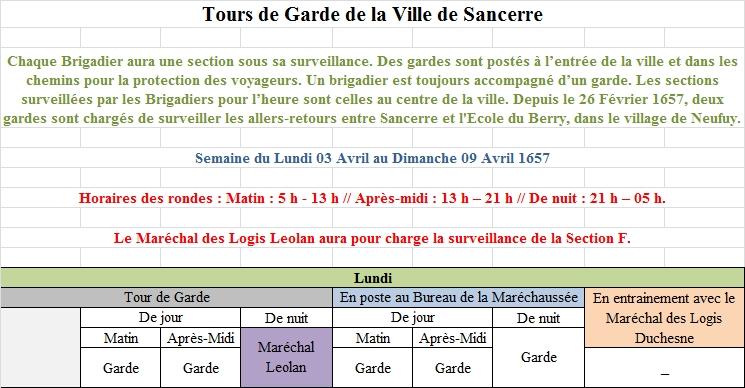 [RP] Plannings des Tours de Gardes de la Ville de Sancerre 1821561Planning