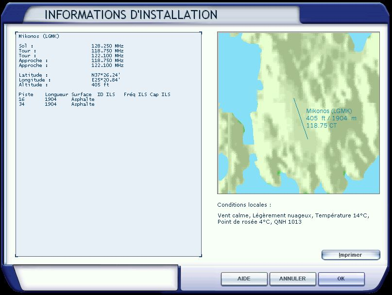 Etape 5: Périple île Constellation direction Αερολιμένας Σητείας 182675Escale5MikonosLGMK
