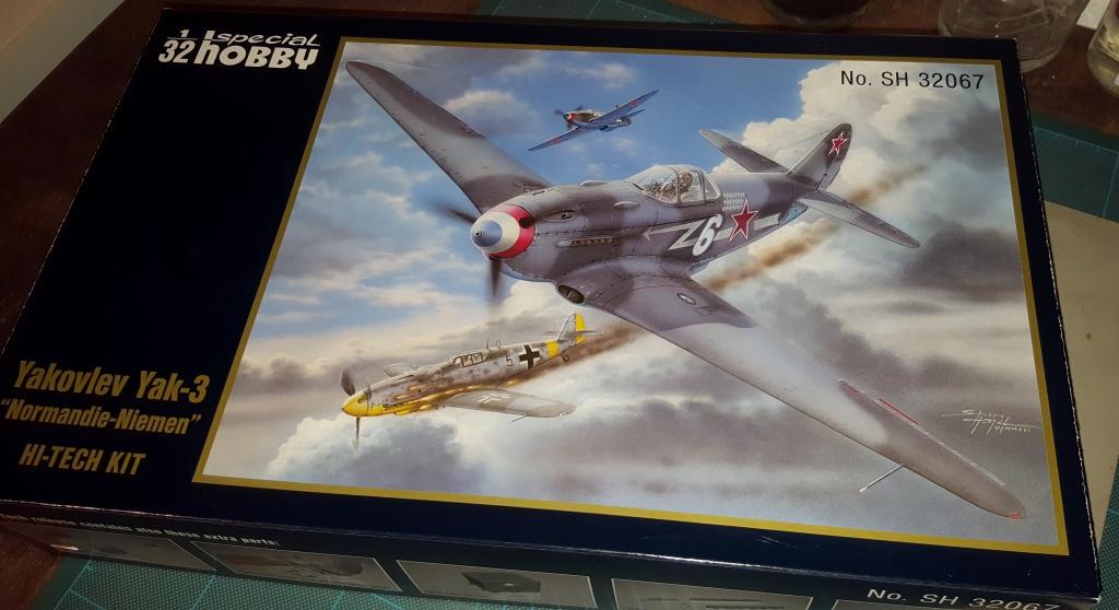 YAK 3 - Normandie Niemen 1/32 Special Hobby 18453420160913221403