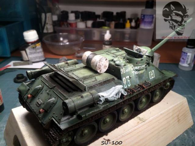 SU-100 marque Dragon 1/35 - Page 2 184624IMG3902