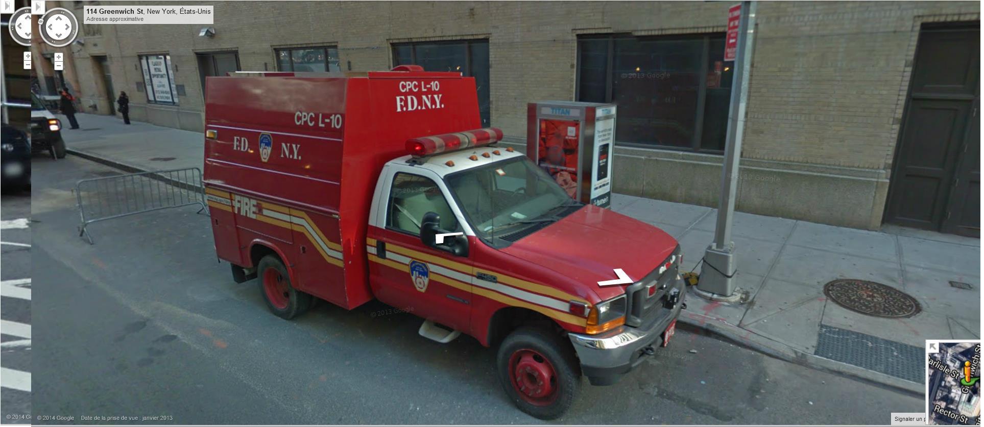 STREET VIEW : les camions de pompiers  - Page 6 187829pompiers1FDNY
