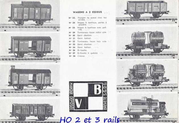 Catalogues 1950 et 1954 couverture photo (extraits) 188169VBcatalogue19543R