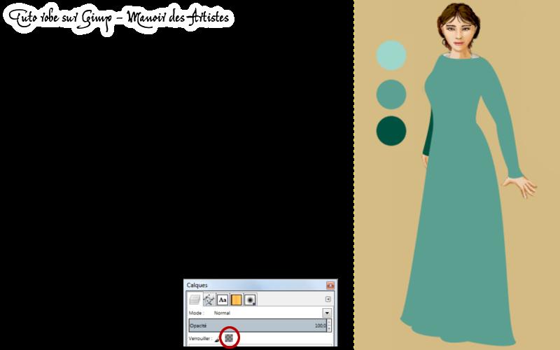 Dessiner une robe sur Gimp 190301tutoderniereversion7
