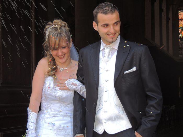 mariage de mon filleul benjamin avec cindy  1912711463