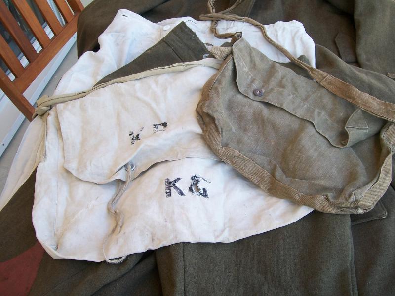Le matériel et l'uniforme des prisonniers de guerre 1934181002152