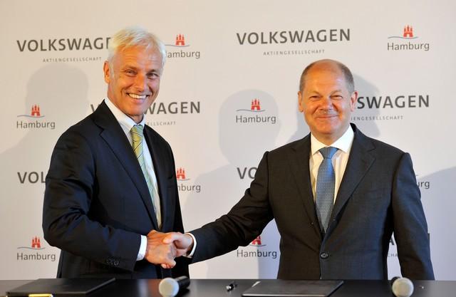 Volkswagen et Hambourg concluent un partenariat stratégique pour la mobilité  193954hddb2016al01543large