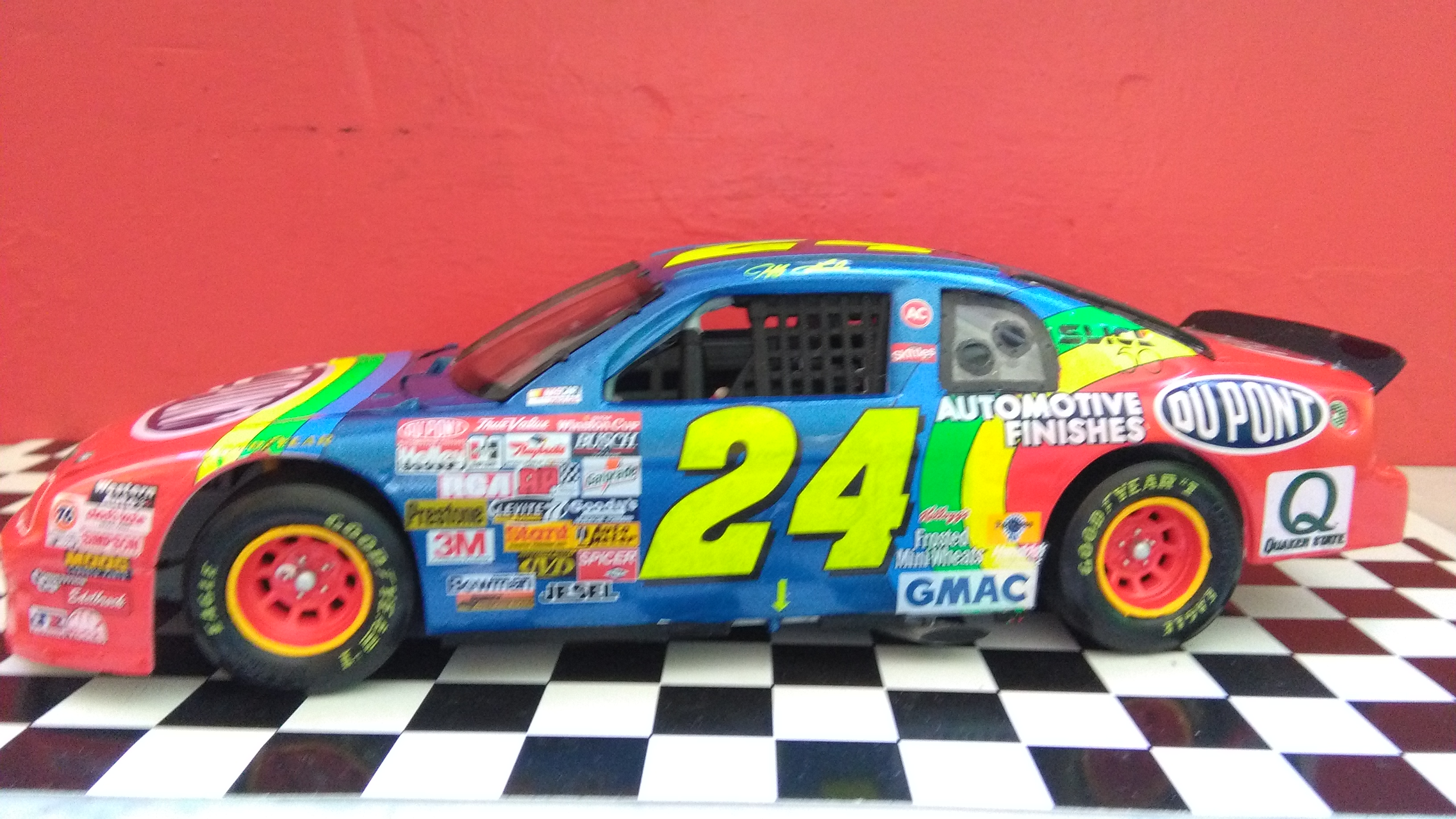 Chevy Monte-Carlo 1996 #24 Jeff Gordon Dupont Dover wins  194638IMG20170521140610