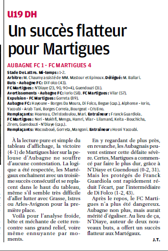 FC AUBAGNE // CFA2 GROUPE SUD EST  G - Page 20 196252765