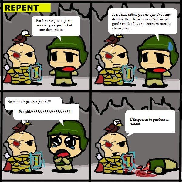 [Humour 40K] Collection d'images humoristiques - Page 5 201622Repentbyskeenoman