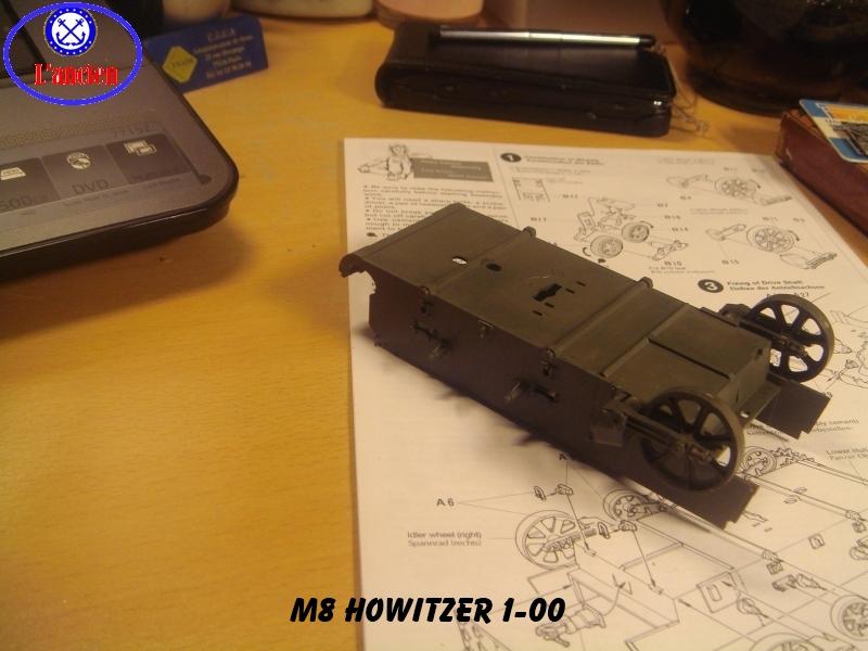 M8 US Howitzer  au 1/35 par l'ancien 203086m8100