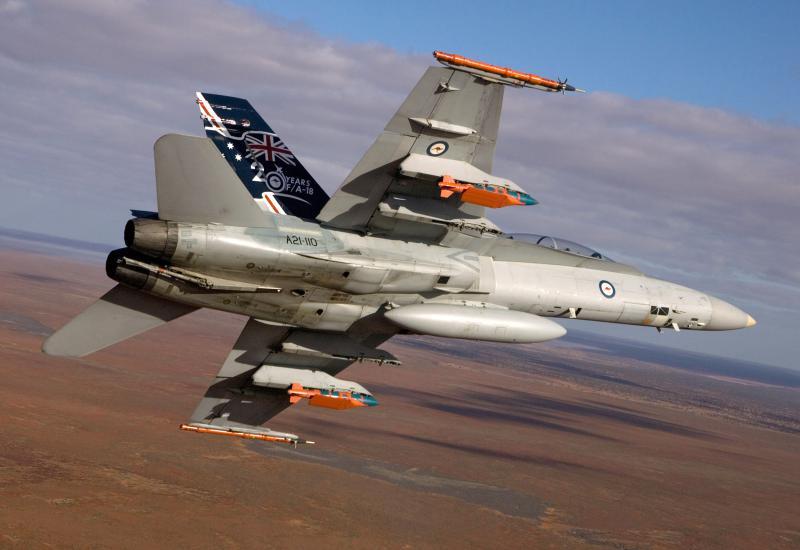 BOEING F/A-18E et F SUPER HORNET  206165McDonnellDouglasF18australien