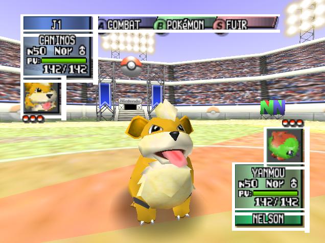 Shinies sur Pokémon Stadium 206532Caninis