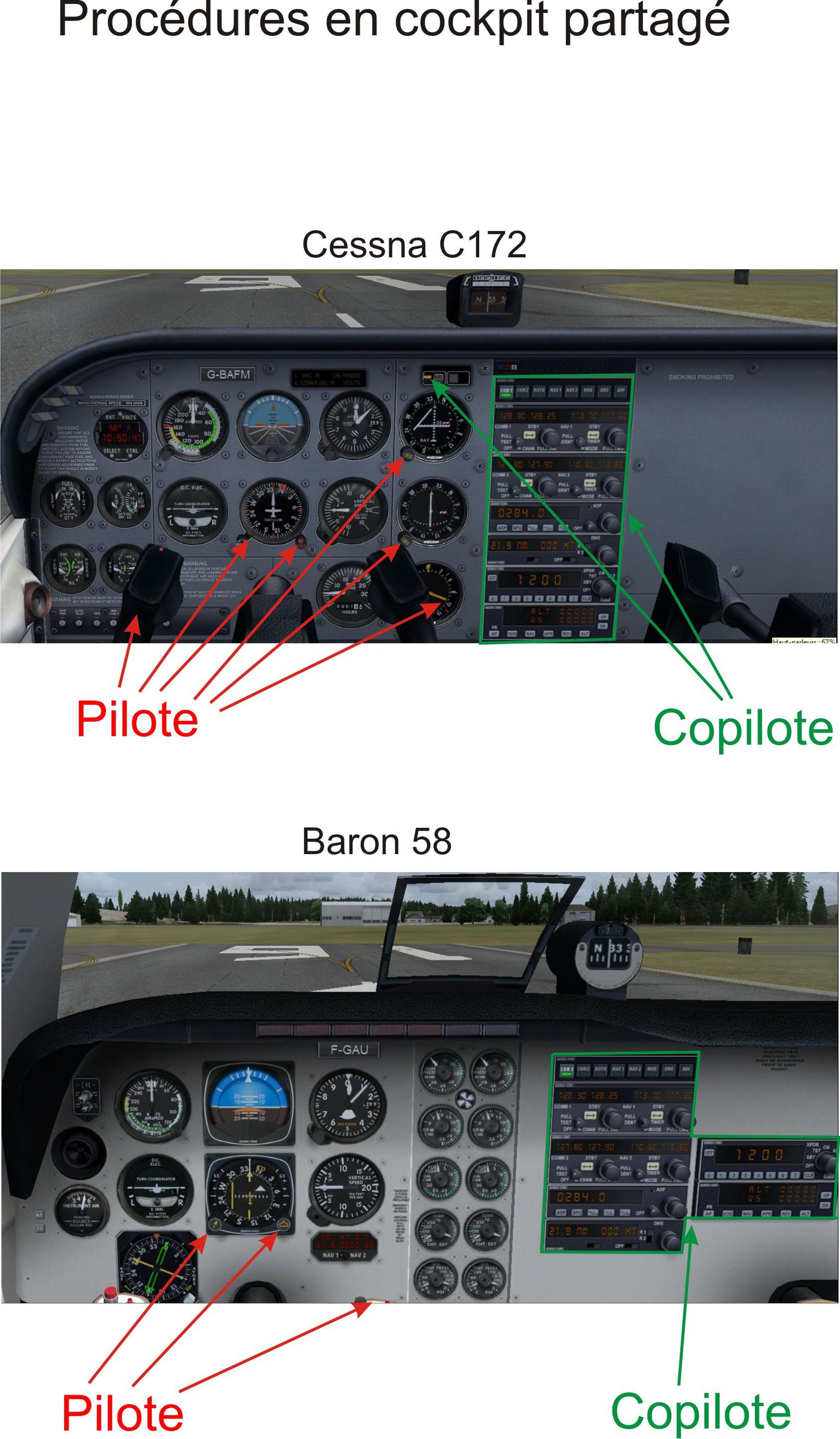 Procédures en cockpit partagé 206903Procdurescockpitpartag