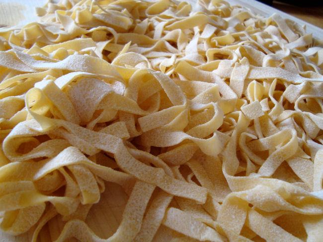Tagliatelles au ragout d'Agneau et  Pecorino (fromage Sarde ) 210386Image1