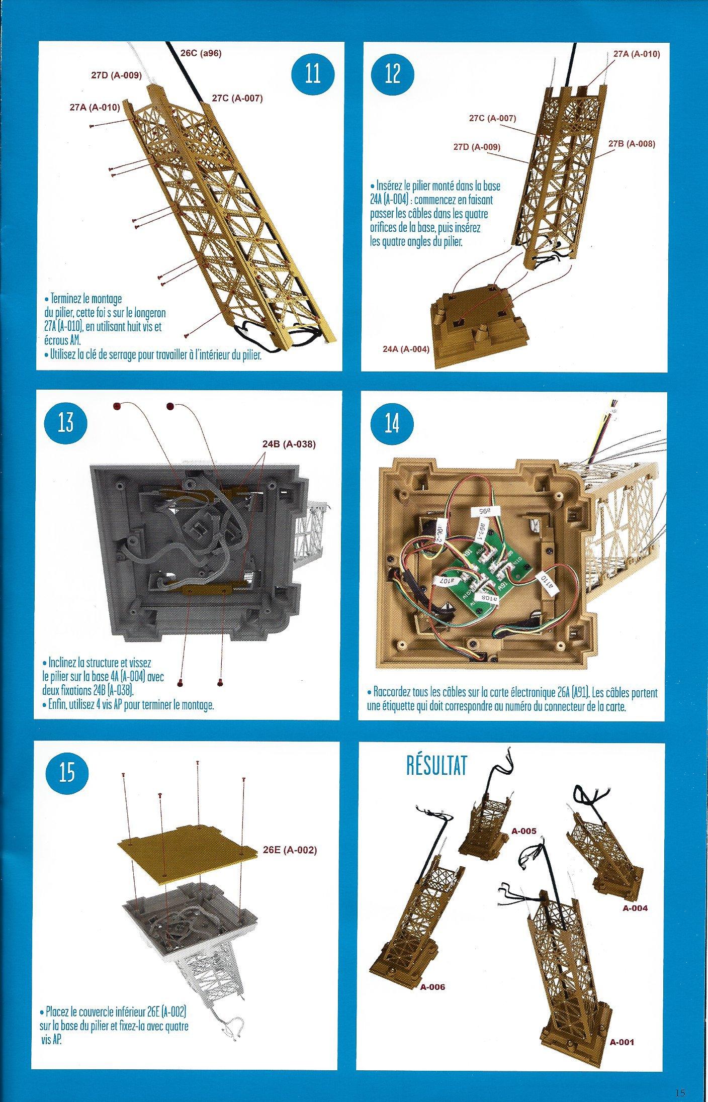 Numéro 31 - Je construis la Tour Eiffel - La fréquentation de la Tour (1/2) 21303031e