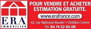 ERA France, pour vendre et acheter, estimation gratuite