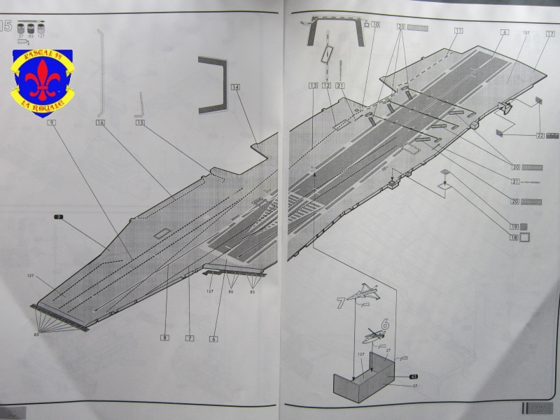 Porte avions Charles De Gaulle au 1/400 d'Heller 217016IMG25251