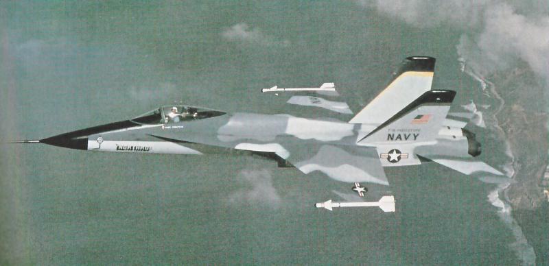 BOEING F/A-18E et F SUPER HORNET  220133NorthropYF1710