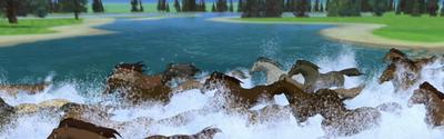 La Rivière Cristalline (Payante)