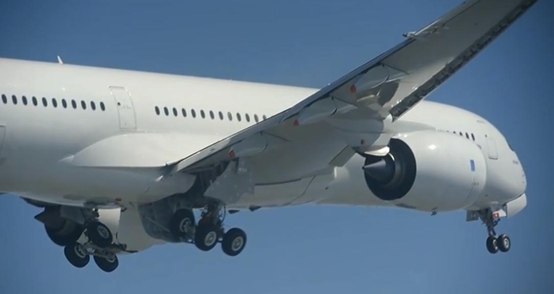 Vol d'essai de l'A350 227074a3504