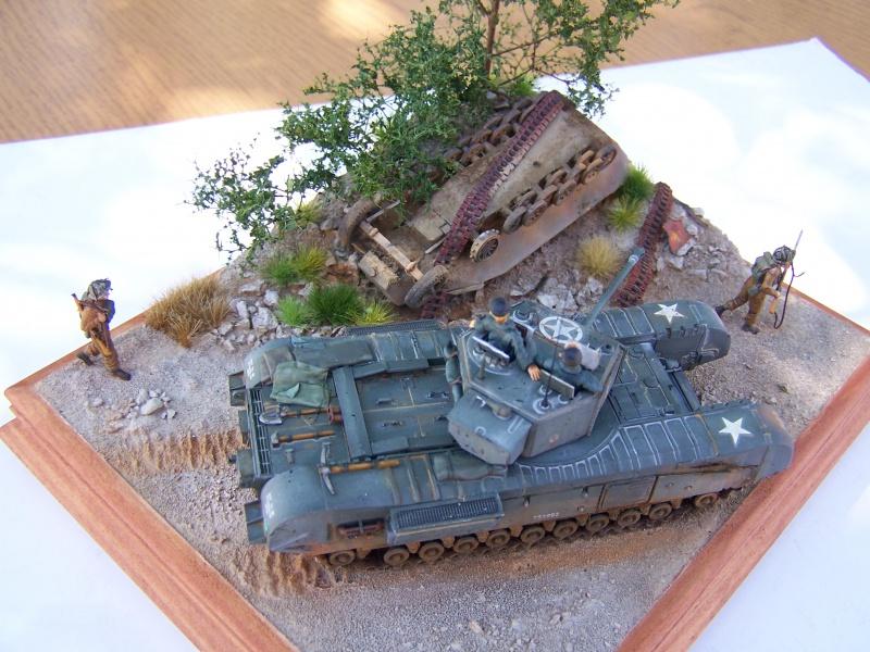 """Churchill mk3* """"Bas de Brieux"""", Normandie  Aout 44 2320471005991"""