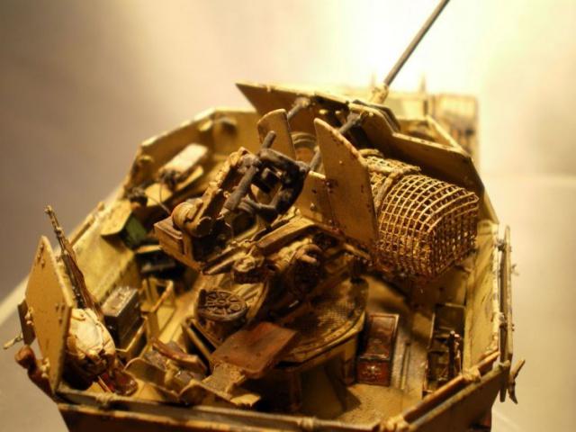 sd.kfz 140 flakpanzer (gépard) maquette Tristar 1/35 - Page 2 232620IMGP3229
