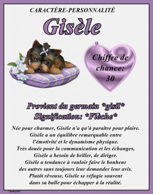 """"""" Le Petit Journal Quotidien """" Maria21 - Page 4 232695PRENOMGISELE"""