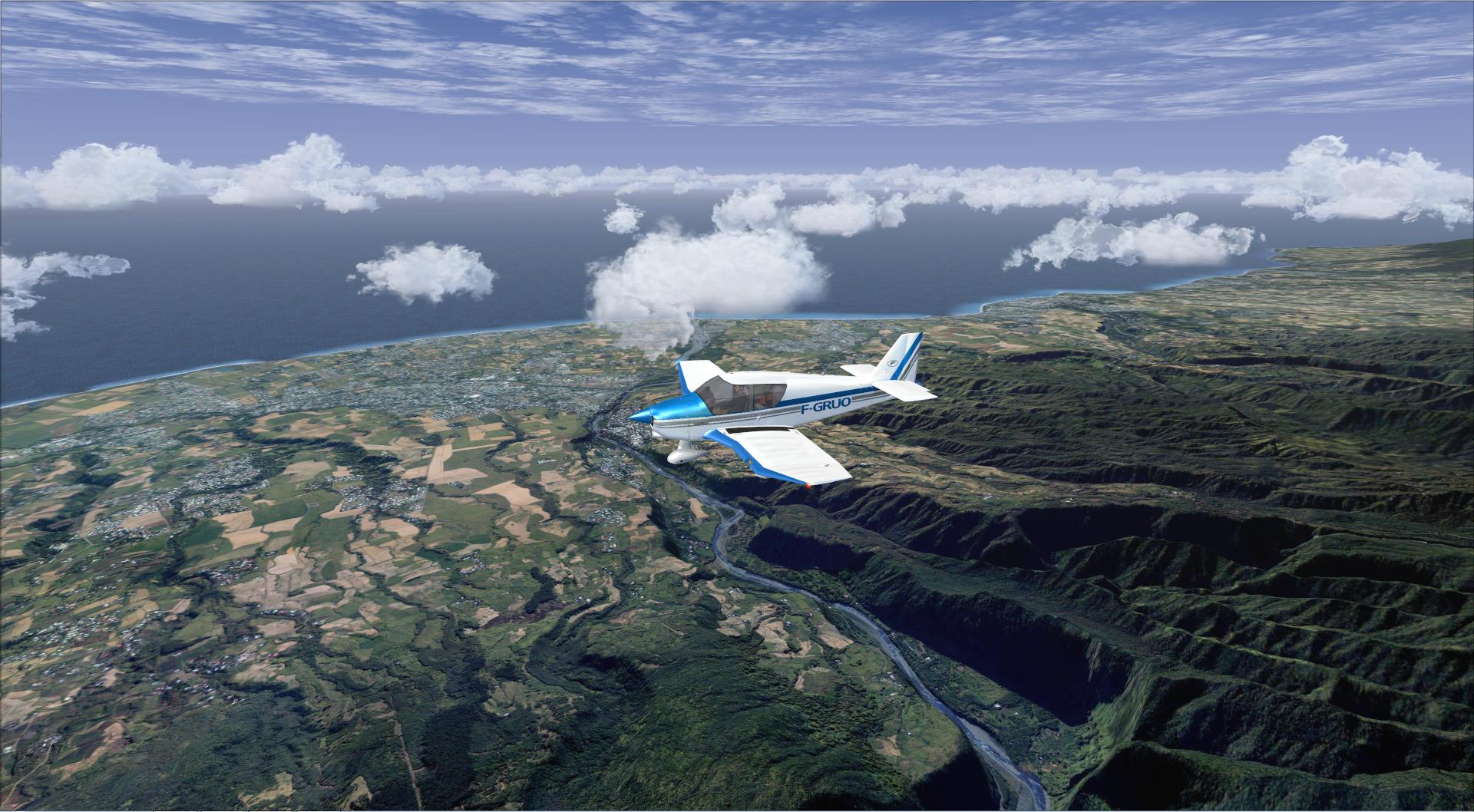 Survol de l'Ile de la Réunion 2336842014829221024329