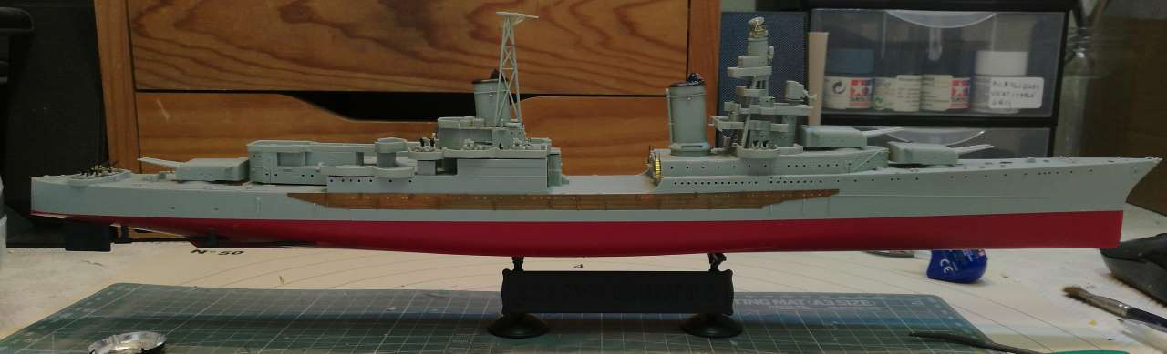 USS Indianapolis 1/350 Academy - 1945 - Page 4 234436Indianapolis58