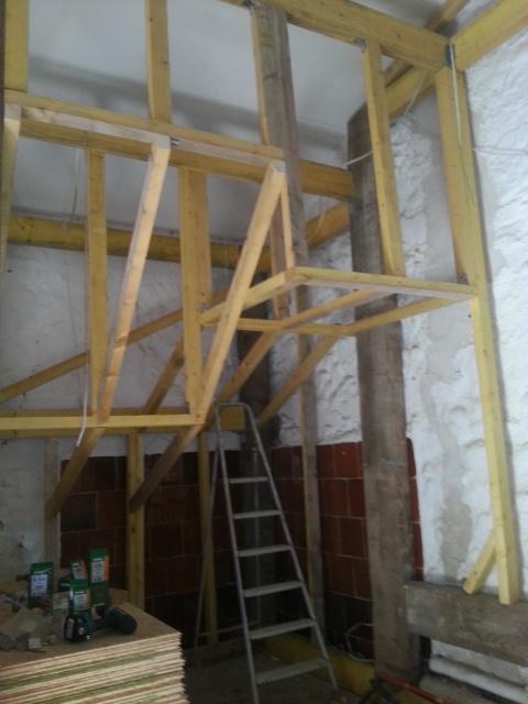 La construction de mon bloc dans le garage 23476320140913162143