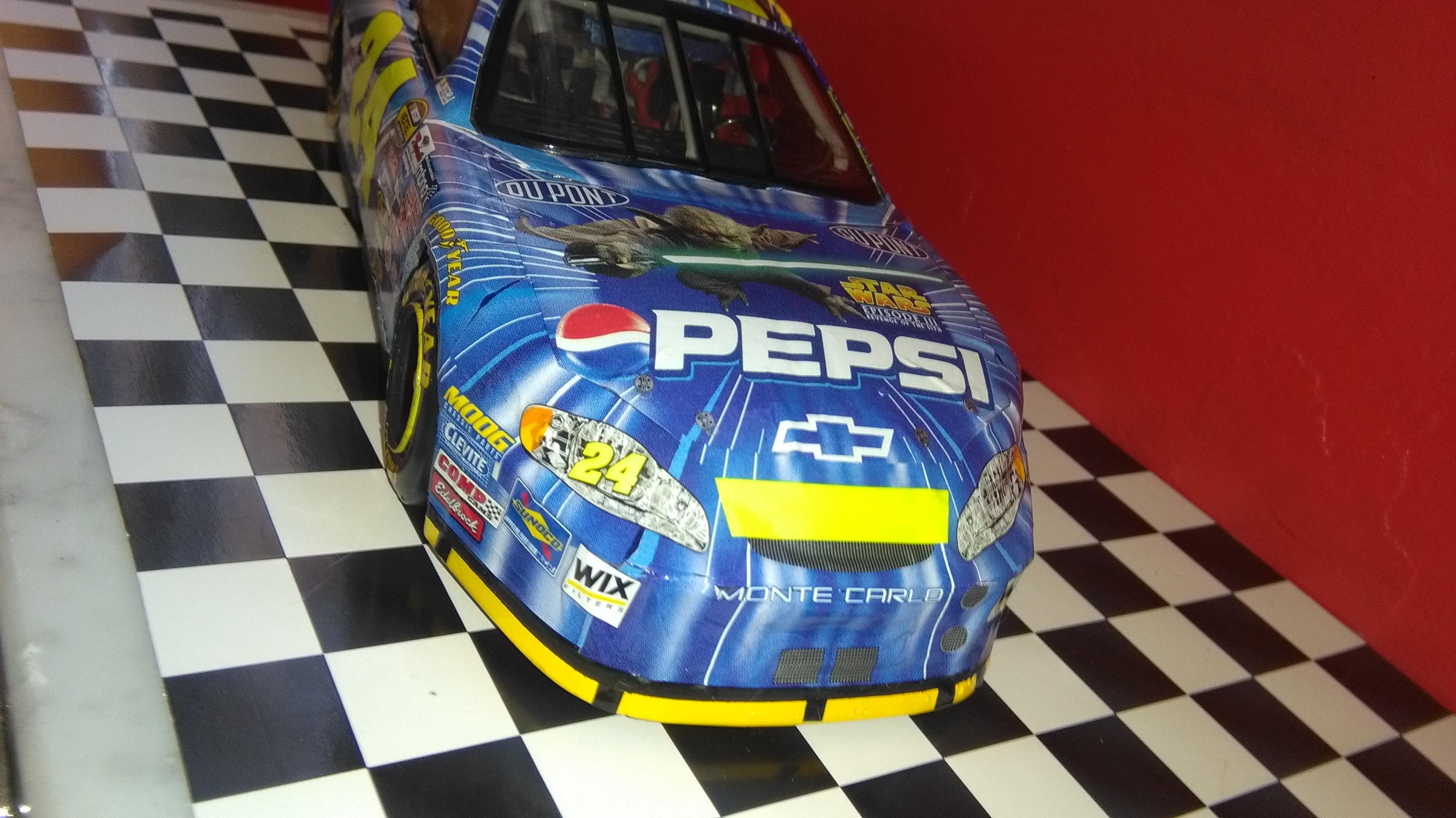 Chevy Monte-Carlo 2005 #24 Jeff Gordon Pepsi/Star Wars  235357IMG20170430170111